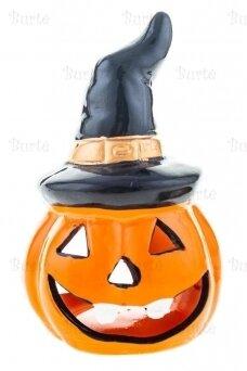 Candle holder pumpkin